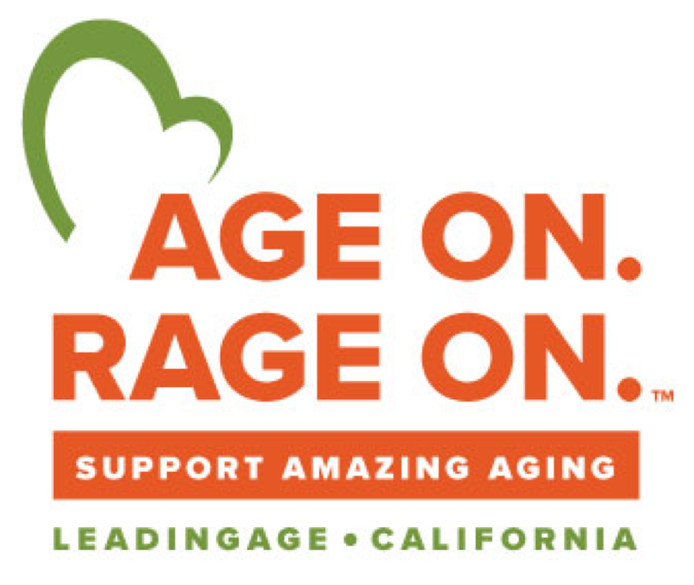 Age On. Rage On. Logo
